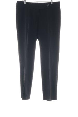 Atelier Gardeur Pantalon en jersey noir style classique