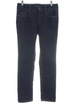 Atelier Gardeur Jeans coupe-droite bleu style décontracté