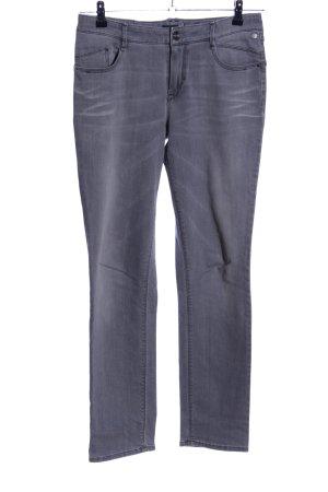 Atelier Gardeur Jeans coupe-droite gris clair style décontracté