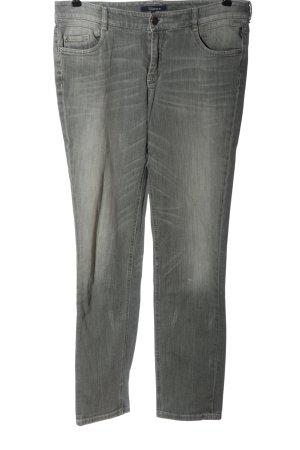 Atelier Gardeur Straight-Leg Jeans hellgrau Casual-Look