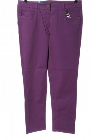 Atelier Gardeur Straight-Leg Jeans lila Casual-Look