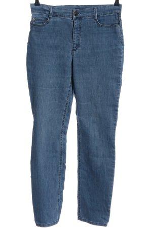 Atelier Gardeur Jeans slim bleu style décontracté