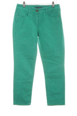 Atelier Gardeur Jeans met rechte pijpen groen casual uitstraling