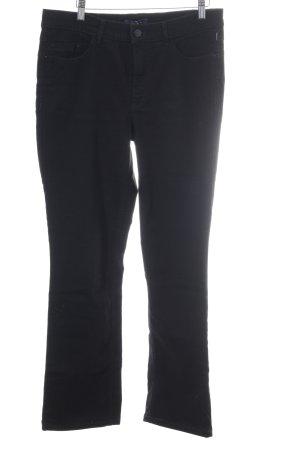 Atelier Gardeur Jeans coupe-droite noir style décontracté