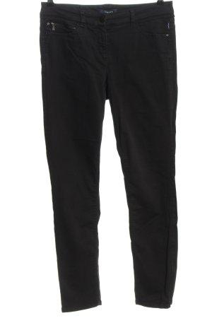 Atelier Gardeur Pantalone elasticizzato nero stile casual