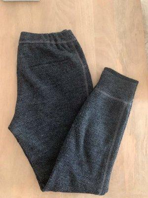 Atelier Gardeur Wełniane spodnie antracyt Wełna