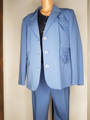 Atelier Goldner Schnitt Tailleur-pantalon bleu azur