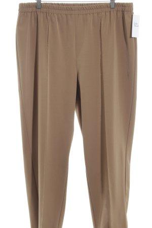 Atelier Goldner Schnitt Pantalon en jersey bronze style décontracté