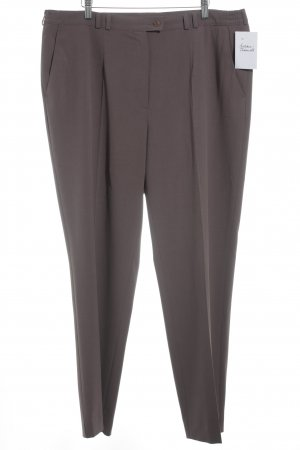 Atelier Goldner Schnitt Pantalon en jersey gris lilas style décontracté