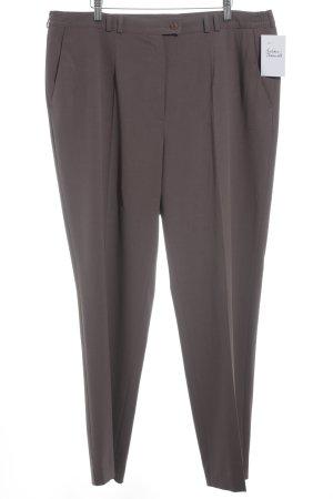 Atelier Goldner Schnitt Pantalone jersey grigio-lilla stile casual