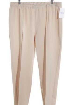 Atelier Goldner Schnitt Stoffen broek nude casual uitstraling