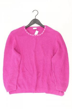 Atelier GS Grobstrickpullover Größe Kurzgröße 24 pink aus Baumwolle