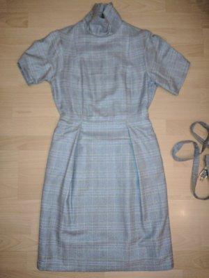 Atelier Robe mi-longue gris-argenté tissu mixte
