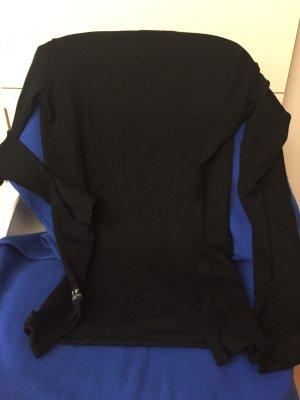 ATF Pullover Long schwarz m 38 Neu Baumwolle 50 %