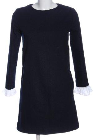 athe vanessa bruno Longsleeve Dress black-white casual look