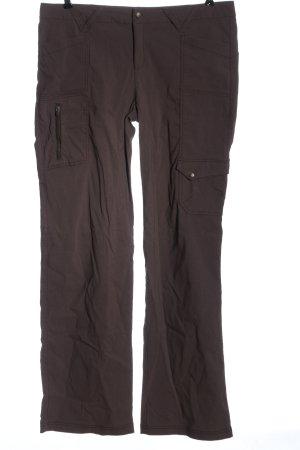 Athleta Cargo Pants brown casual look