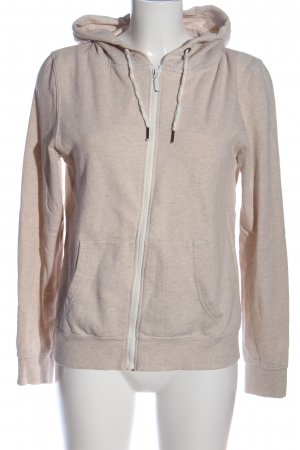 Athmosphere Hooded Sweatshirt cream flecked casual look