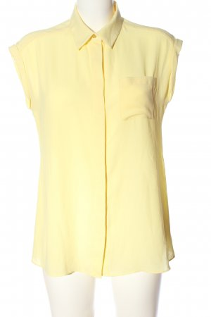 Athmosphere Camicia a maniche corte giallo pallido stile professionale