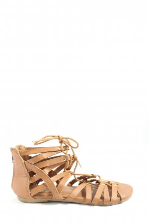 Athmosphere Strapped Sandals brown-gold-colored casual look