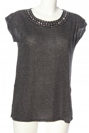 Athmosphere Knitted Jumper black flecked casual look