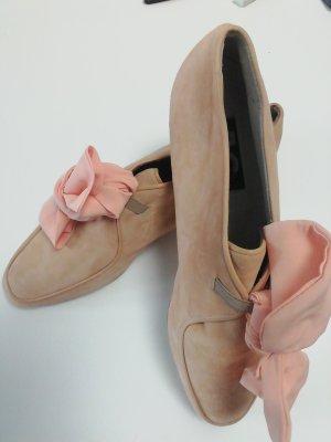 AE Zapatos formales sin cordones albaricoque