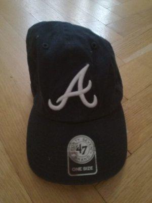 New Era Baseball Cap dark blue cotton