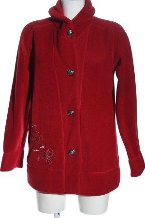 Atlas for women Fleece jack rood elegant