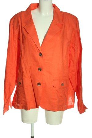 Atlas for women Gebreide blazer licht Oranje casual uitstraling