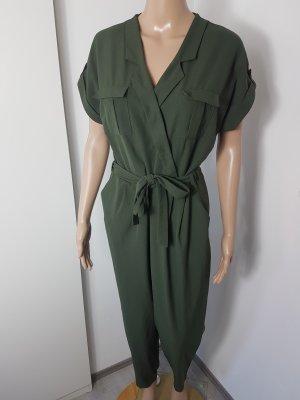 Atmopshere Damen Overall Jumpsuit Jersey Onesie Einteiler Größe 40 khaki