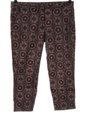Atmosphere Pantalone a 3/4 motivo astratto elegante