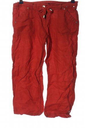 Atmosphere Pantalone a 3/4 rosso stile casual