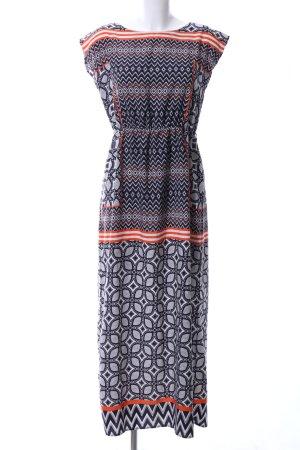 Atmosphere A-Linien Kleid Allover-Druck Casual-Look