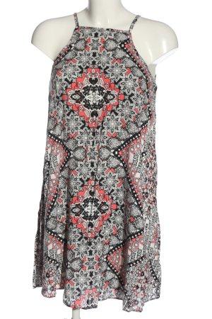 Atmosphere Robe trapèze Mélange de motifs style décontracté