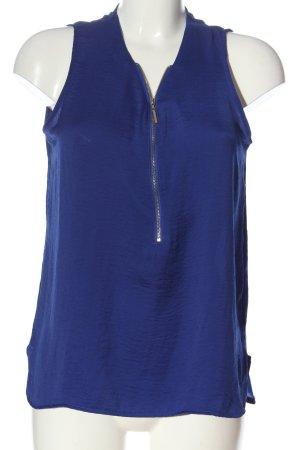 Atmosphere ärmellose Bluse blau Casual-Look
