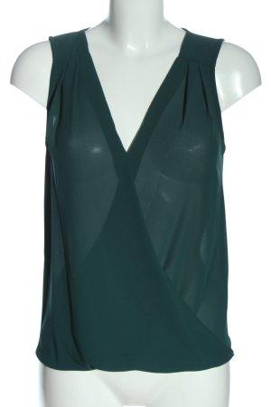 Atmosphere ärmellose Bluse grün Business-Look