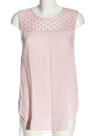Atmosphere Blusa senza maniche rosa stile casual