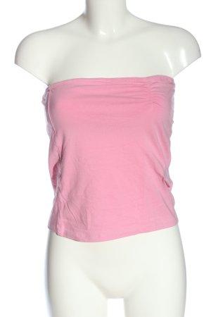 Atmosphere Top a fascia rosa stile casual