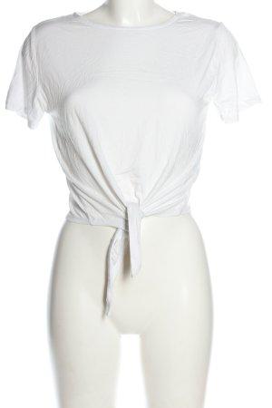 Atmosphere Shirt basique blanc style décontracté