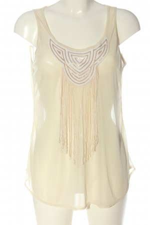Atmosphere Basic Top creme Casual-Look