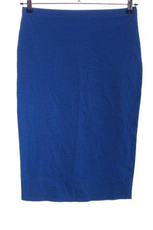 Atmosphere Bleistiftrock blau Casual-Look