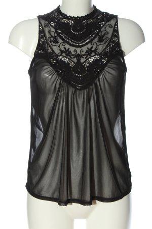 Atmosphere Blouse topje zwart klassieke stijl
