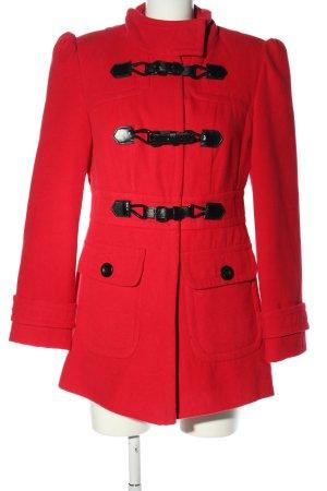 Atmosphere Cappotto stile pilota rosso stile casual
