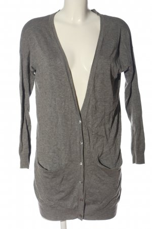 Atmosphere Cardigan hellgrau meliert Casual-Look