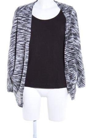 Atmosphere Cardigan schwarz-weiß meliert Casual-Look