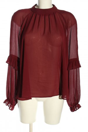 Atmosphere Carmen-Bluse rot Casual-Look