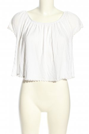Atmosphere Camisa tipo Carmen blanco look casual