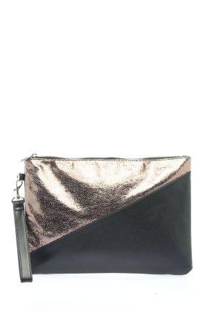 Atmosphere Clutch schwarz-silberfarben Casual-Look