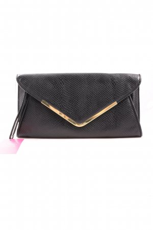 Atmosphere Clutch schwarz Allover-Druck Elegant