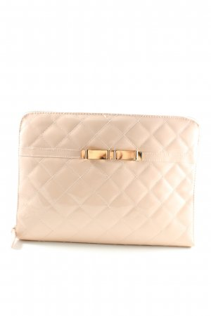 Atmosphere Clutch creme Steppmuster Business-Look