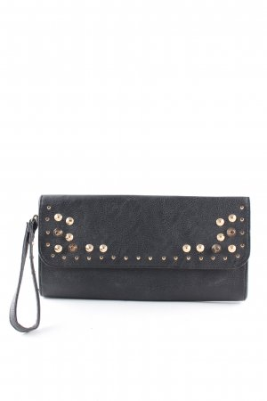 Atmosphere Clutch schwarz-goldfarben Casual-Look
